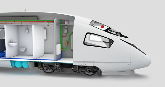 Intelligent fire protection solutions for Rail vehicles